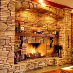 Extraordinaire Fireplace Lates 60 Tv With 5 Ribbon Fireplace Plus Custom Iron Surround And