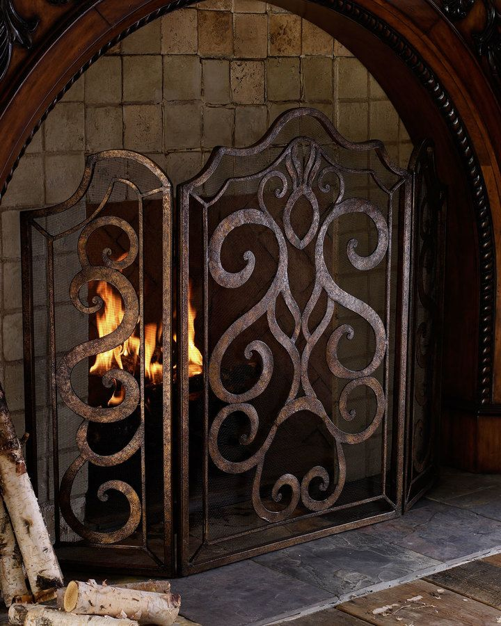 25 Fresh Fireplace Mesh Screen Images