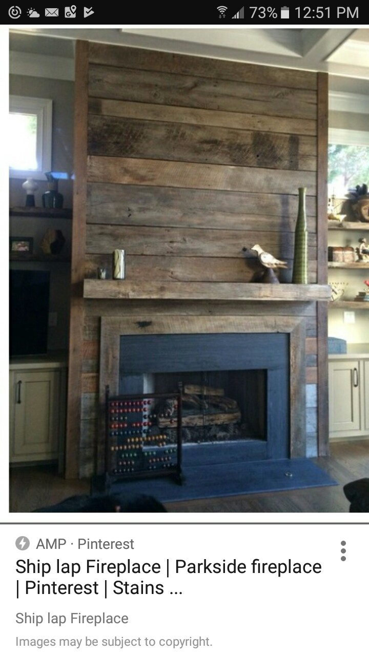 21 Lovely Pallet Fireplace Images